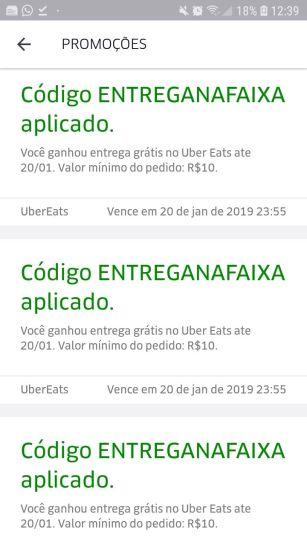 uber eats brasilia codigo