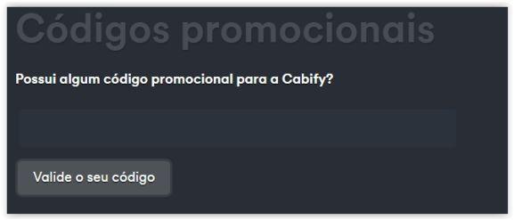 Cupom de Desconto Cabify ⇒ 20% OFF, setembro 2019 - Pelando