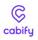 20% de desconto Cabify em uma corrida