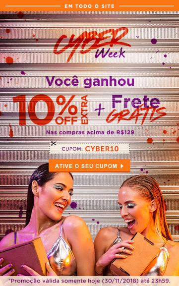 10% Off + Frete Grátis nas compras acima de R 129 na Beleza na Web ... 98200bd4187a0