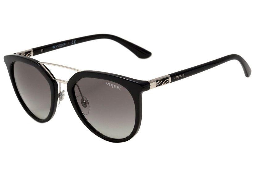 288ef9d34470b Óculos de Sol Vogue VO 5164 S - W44 11 Preto Degradê - R 188