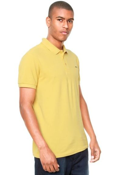 Camisa Polo Colcci Bordado Rosa - R 69 342e3e890de54