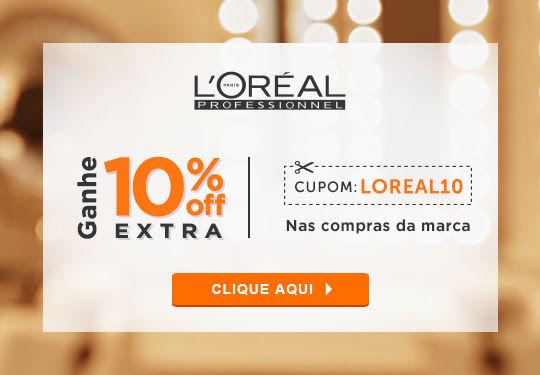 10% OFF em produtos L Oreal Professionel na Beleza na Web  f10a736e0193c