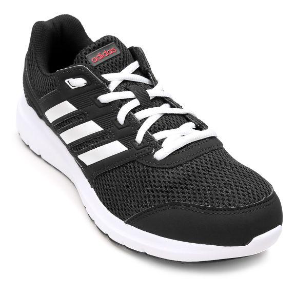 79ce3c96486 Tênis Adidas Duramo Lite 2 Feminino - Preto e Branco R 140