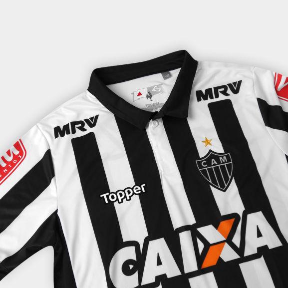 bcd0010c9a Camisa Atlético-MG I 17 18 s nº - Torcedor Topper Masculina