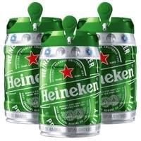 [Delivery Extra] 3 Barris Heineken 5L por 119,70