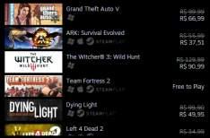 [Steam] Descontos em vários jogos