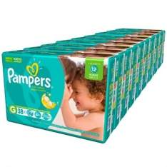 [Kangoolu] Fralda Pampers Total Confort Mega Tamanhos P, M, G, XG, XXG  por R$ 269