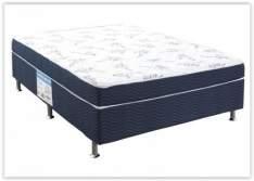 [Clube da Lu] Cama Box Casal Conjugado 138x188cm - Ortobom Physical Blue por R$ 269