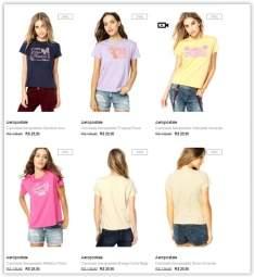 [Dafiti] Promoção Camisetas Aeropostale a partir de  R$ 15