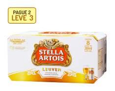 [Empório da Cerveja] Stella Artois 269 ml - Caixa com 8 unidades - Pague 2, Leve 3