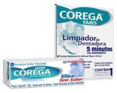 [Corega] Experimente Ultra Corega® Creme e Corega® Tabs - Grátis