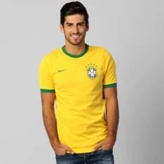 [Netshoes] CAMISETA NIKE SELEÇÃO BRASIL 2014
