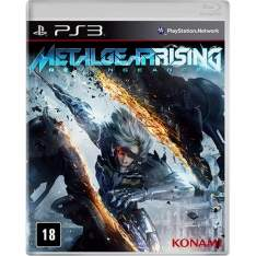 [Americanas] Metal Gear Rising PS3 - R$ 20