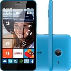[Americanas]  Smartphone Microsoft Lumia 640 XL Dual Chip Azul/ Preto por R$ 539