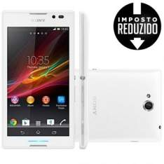[Ricardo Eletro] Celular Smartphone Sony Xperia C C2304 Branco R$ 539