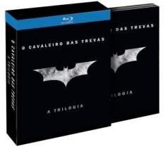 [Saraiva] Blu-Ray Coleção Batman- Trilogia - 5 Discos por R$ 99