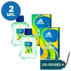 [Ricardo Eletro] Kit com 2 Perfumes Adidas Get Ready! Eau de Cologne Masculino 100ml por R$ 27