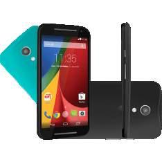 [ShopTime] Motorola Moto G (2ª Geração) Colors Dual Chip 8GB 3G Wi-Fi Câmera 8MP Preto por R$ 521