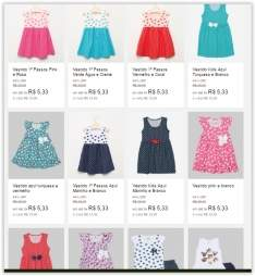 [Dinda] Diversos modelos de Vestidos Infantis a partir de R$ 16