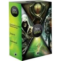[Americanas] Box Livros de Games - R$20
