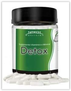 [Magazine Luiza] Detox Fitoterápico 60 Cápsulas - Nitech Nutrition por R$ 10
