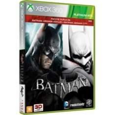 [EXTRA] Jogo Combo Batman Arkham Asylum & City Xbox 360 Warner Bros por R$70