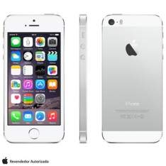 [FASTSHOP] iPhone 5s Silver, 4G, 16 GB e Câmera de 8 MP - 1815
