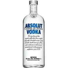 [AMERICANAS] Vodka Sueca Absolut 1000ml - R$60