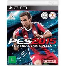 [Submarino] Pro Evolution Soccer 2015 PS3 - R$29,90