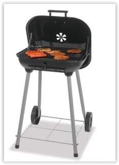 [Walmart] Churrasqueira Portátil com Rodas Uniflame CBC1100WB-EC 44cm por R$ 99