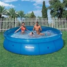 [Extra] Piscina Bestway Fast Set 5.377L - Azul - R$250