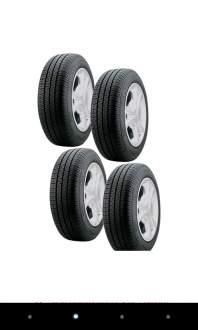 [Americanas] Kit com 4 Pneus Pirelli Aro 13 175/70R13 P400 por R$ 463