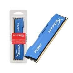 [Ponto Frio] Memoria Kingston Hyperx Ddr3  Fury 4Gb 1600Mhz Non-Ecc Cl10 R$ 150