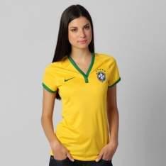 [Netshoes] Camisa Feminina Nike Seleção Brasil I R$ 40