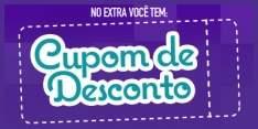 [Extra] cupom de desconto grátis- desconto na maioria dos produtos na Loja online extra