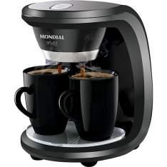 [Americanas] Cafeteira Elétrica Mondial Smart C-18 2 Xícaras R$ 65