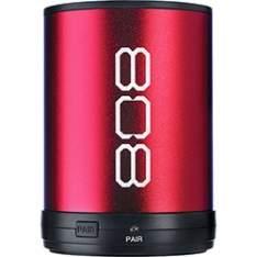 [Submarino] Caixa Acústica Bluetooth Canz 808 Vermelha - R$38
