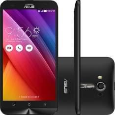 "[SHOPTIME] Smartphone ASUS ZenFone 2 Laser Dual Chip Desbloqueado Android 5 Tela 5.5"" 16GB 4G 13MP - Preto R$ 890"