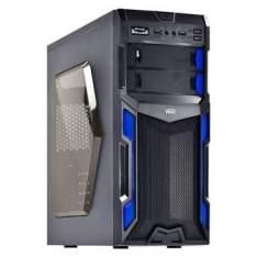 [Walmart] Gabinete Gamer Vinik VX Typhoon Mid Tower Sem Fonte - Azul R$159