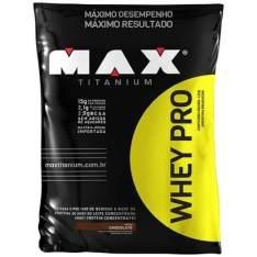 [NETSHOES] - WHEY PRO 1,5 KG REFIL - MAX TITANIUM por R$ 50