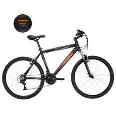 [EXTRA] Bicicleta Aro 26 Mongoose Xtreme SPT com 21 Marchas e Suspensão Dianteira - Preta R$550