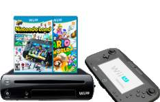 [Americanas] Console Nintendo Wii U 32GB + Game Super Mario World 3D + Game Nintendoland - Americanas.com