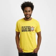 [ShopTimão] Camiseta Corinthians És Do Brasil R$30