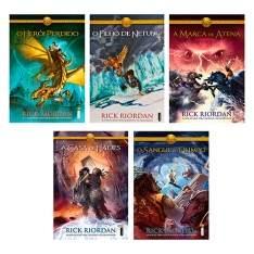 [Ponto Frio] Coleção Os Heróis do Olimpo (5 Volumes) - R$47