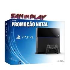 [GPMEGASTORE] PlayStation 4 500GB - Promoção San In Play Natal 2015