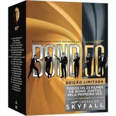 [Americanas] Coleção DVD 007 Celebrando Cinco Décadas de Bond - 23 Discos por R$ 132