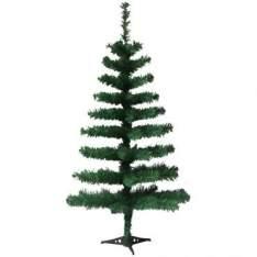 [Ricardo Eletro] Árvore de Natal Pinheiro Canadense 60cm com 50 Galhos, Verde - Yangzi por R$ 6