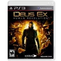 [Ricardo Eletro] Jogo Deus Ex: Humam Revolution para Playstation 3 (PS3) - Square Enix por R$ 20