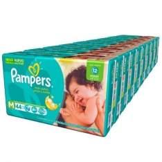 [Kangoolu]Fralda Pampers Total Confort P/M/G/XG/XXG por R$ 269